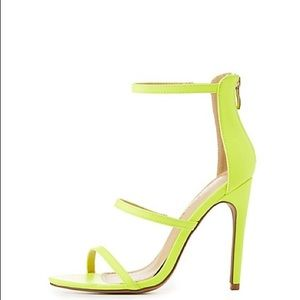 Liliana Shoes - Neon Heels Sandals